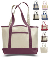 SMALL HEAVY CANVAS TOTE BAG