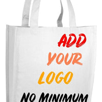 BAGANDTOTE CANVAS TOTE BAG WHITE CUSTOM HEAVY SHOPPER CANVAS TOTE BAG