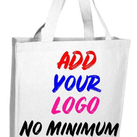 BAGANDTOTE CANVAS TOTE BAG WHITE CUSTOM HEAVY WHOLESALE CANVAS TOTE BAGS WITH FULL GUSSET