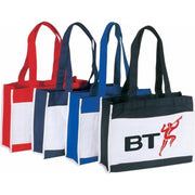 BAGANDTOTE.COM CANVAS TOTE BAG Canvas Tote Bag With Front Slip Pocket