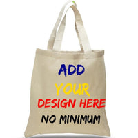 BAGANDTOTE.COM CANVAS TOTE BAG NATURAL CUSTOM HIGH QUALITY PROMOTIONAL CANVAS TOTE BAGS