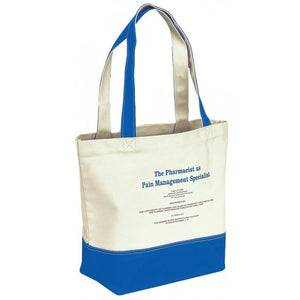 BAGANDTOTE.COM CANVAS TOTE BAG Royal Canvas Tote Bag Dual Carrying Handles