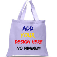 BAGANDTOTE.COM CANVAS TOTE BAG WHITE CUSTOM HIGH QUALITY PROMOTIONAL CANVAS TOTE BAGS