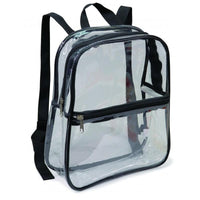 BAGANDTOTE.COM Clear Bag Clear Backpack