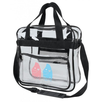 BAGANDTOTE.COM Clear Bag Clear Messenger Bag