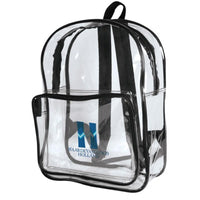 BAGANDTOTE.COM Clear Bags Clear Backpack
