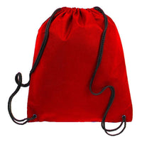 BAGANDTOTE.COM DRAWSTRING Non-Woven Polypropylene Drawstring Backpack
