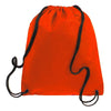 BAGANDTOTE.COM DRAWSTRING Red Non-Woven Polypropylene Drawstring Backpack