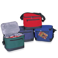 DELUXE POLYESTER COOLER LUNCH BAG