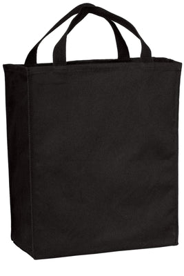 BAGANDTOTE COTTON TOTE BAG BLACK Grocery Cotton Tote Bag