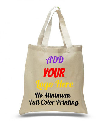 BAGANDTOTE COTTON TOTE BAG CUSTOM COTTON REUSABLE WHOLESALE TOTE BAGS