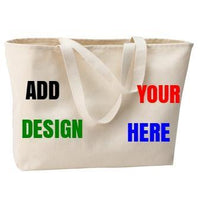 BAGANDTOTE COTTON TOTE BAG Custom Jumbo Tote Port Authority®