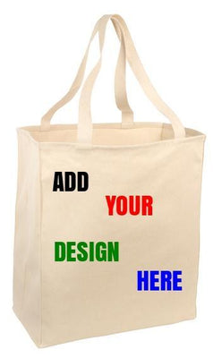 BAGANDTOTE COTTON TOTE BAG Over-the-Shoulder Custom Grocery Tote Port Authority®