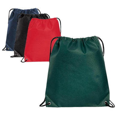 BAGANDTOTE DRAWSTRING Polypropylene Non-Woven Cinch Pack / Drawstring Bag