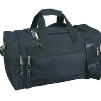 BAGANDTOTE DUFFEL BAG BLACK Discounted Polyester Duffel Bag