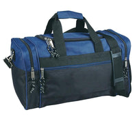 BAGANDTOTE DUFFEL BAG NAVY Discounted Polyester Duffel Bag