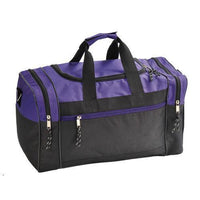 BAGANDTOTE DUFFEL BAG PURPLE Discounted Polyester Duffel Bag
