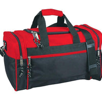 BAGANDTOTE DUFFEL BAG RED Discounted Polyester Duffel Bag