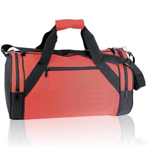BAGANDTOTE DUFFEL BAG RED Sport Gym Roll Duffel Bags