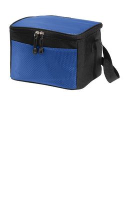 BAGANDTOTE Polyester 6-Can Cube Cooler Lunch Bag