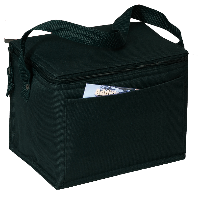 BAGANDTOTE Polyester BLACK Polyester Cooler Bags