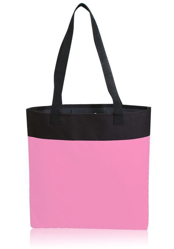 BAGANDTOTE Polyester FUCHSIA NEON CUSTOMIZABLE SHOPPING BAG