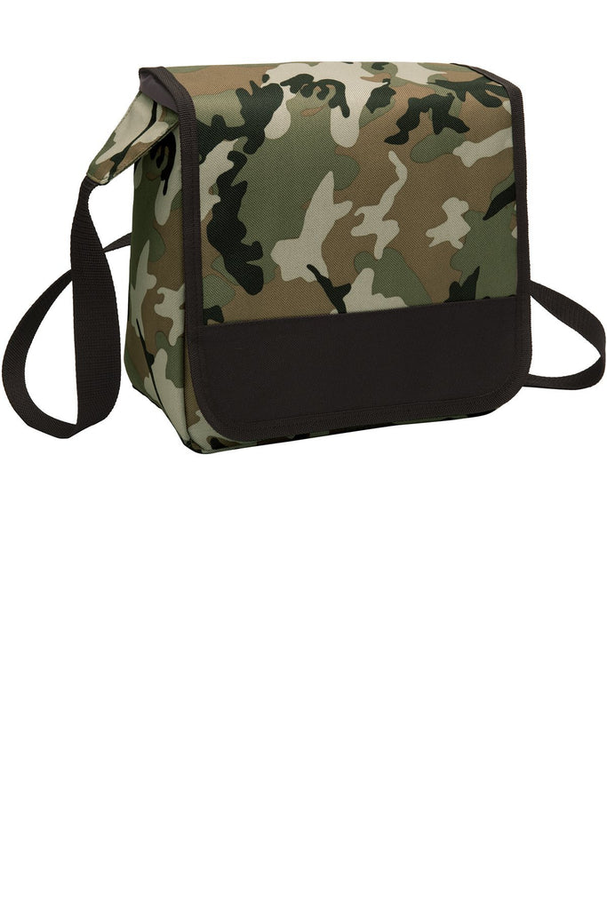 BAGANDTOTE Polyester MILITARY/CAMO Lunch Cooler Messenger