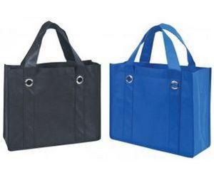 BAGANDTOTE Polyester Non-Woven Polypropylene Grocery Shopping Tote Bags