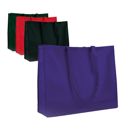 BAGANDTOTE Polyester Promotional Large Size Non-Woven Tote Bag