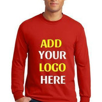 BAGANDTOTE T-Shirt Custom Adult Heavy Cotton Long Sleeve T-Shirt  5400 - Customized