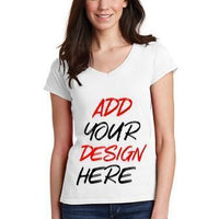 BAGANDTOTE T-Shirt Custom Softstyle Ladies' V-Neck T-Shirt   64V00L - Customized