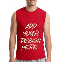 BAGANDTOTE T-Shirt Custom Ultra Cotton Adult Sleeveless T-Shirt  2700 - Customized