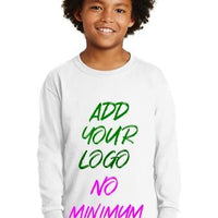 BAGANDTOTE T-Shirt Custom Ultra Cotton Youth Long Sleeve T-Shirt  2400B