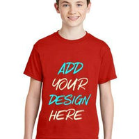 BAGANDTOTE T-Shirt Custom Youth DryBlend T-Shirt 8000B