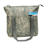 BAGANDTOTE TOTE BAG Large Digi Camo Poly Tote Bag with Zipper