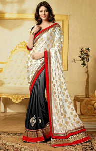 Georgette Multicolored Designer Bollywood Collection Saree with Blouse Peice