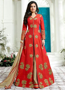 lehenga with long kurta