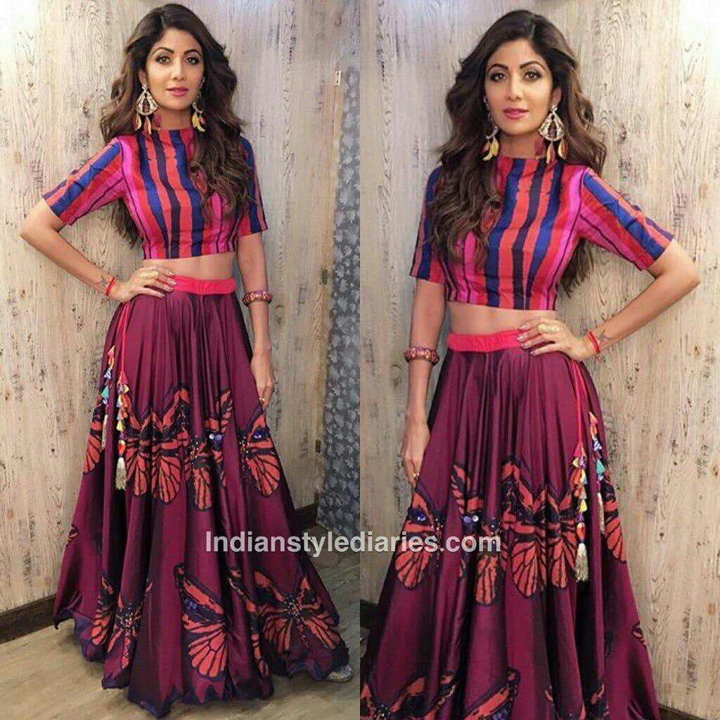 shilpa shetty in gown