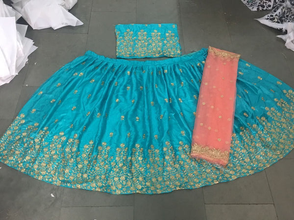 Bollywood Festive Ethnic Party Wear Designer Banglori Anarkali Lengha Choli For Wedding