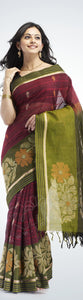 Georgette Multicolored Designer Bollywood Rakul Saree with Blouse Material