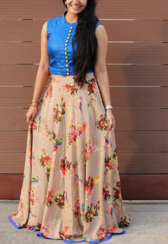 umbrella skirt and top