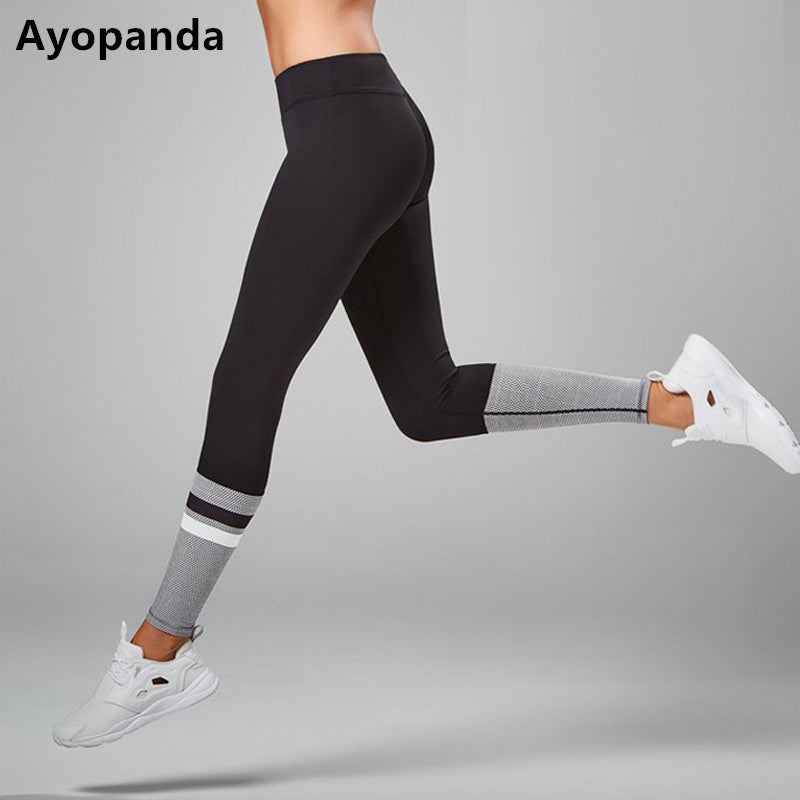 Ayopanda Zoe Runway Black Sport Leggings Women