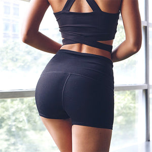 Women Sport Fitness Shorts Quick Drying High Waist