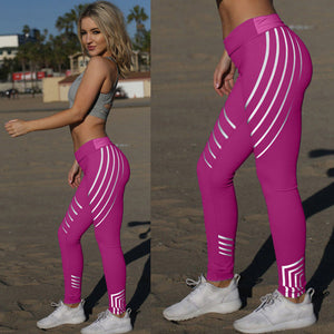 Bright Neon Fitness Leggings