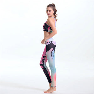 2 Piece Female quick drying Fitness Clothes