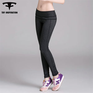 INSPIRATION breathable Yoga Pants Quick-dry