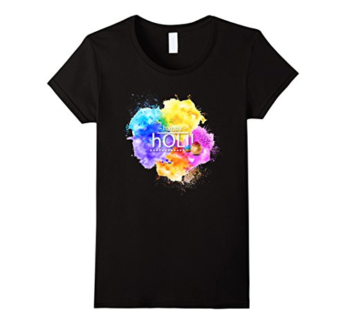 Holi Festival of Colors T-Shirt - HolyHinduStore