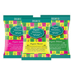 Organic 100% Natural Holi Colours (Pack of 3) Pink,Yellow,Green - HolyHinduStore