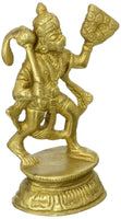 Indian Statue Hanuman Carrying Mountain Hindu Figurine - HolyHinduStore