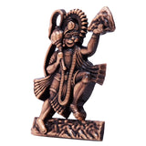 Brass Lord Hanuman Statue Religious Gift Car Home Office Table Décor - HolyHinduStore